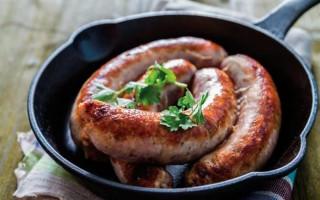 Колбаски Мираторг: рецепты приготовления и описание продукта