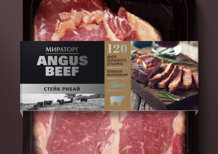 Мраморность мясаговядины (биф) Black Angus