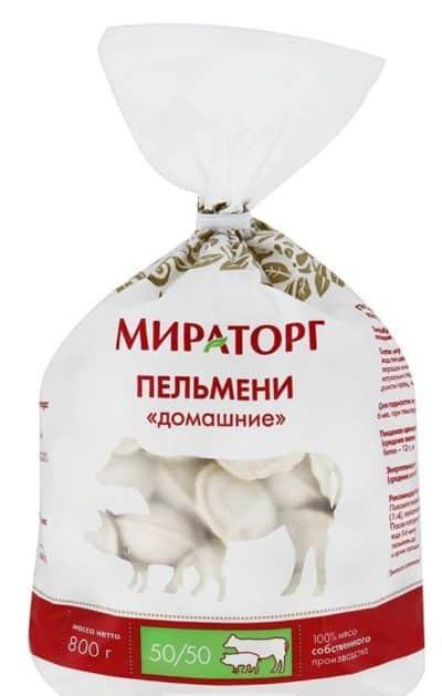 белые пельмени
